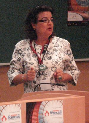 Carole Beaulieu du département de biologie de l'Université de Sherbrooke.