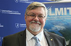 Vic Pakalnis, associate vice-president of Laurentian Mining Innovation and Technology
