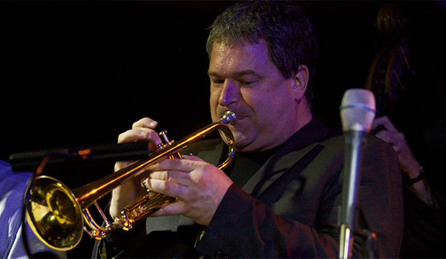York University's Kevin Turcotte serves as a musical stand-in for Chet Baker in Born to Be Blue.