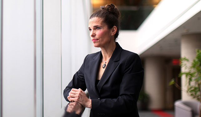 Minister of Science Kirsty Duncan poses for a photograph November 26, 2015 in Ottawa. Photo by Dave Chan.