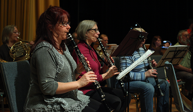 Participants in the New Horizons ensemble. Photo courtesy of New Horizons Montréal.