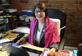 Reports state that professor Homa Hoodfar's health is failing while being kept in solitary confinement in Iran. Photo courtesy of homahoodfar.org.