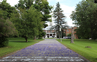 Residential school provides the canvas for multi-artist installation in response to Truth and Reconciliation