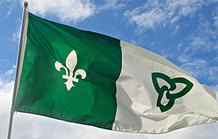 U of Sudbury commemorates first-ever raising of Franco-Ontarian flag