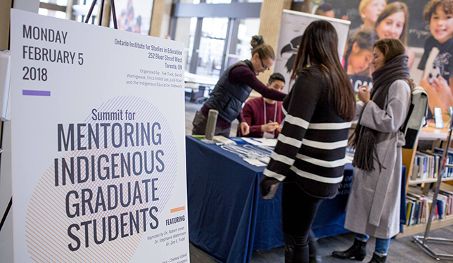 Lessons from the first Summit for Mentoring Indigenous Graduate Students