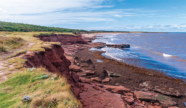 UPEI road show brings climate science from the lab to communities affected by coastal erosion