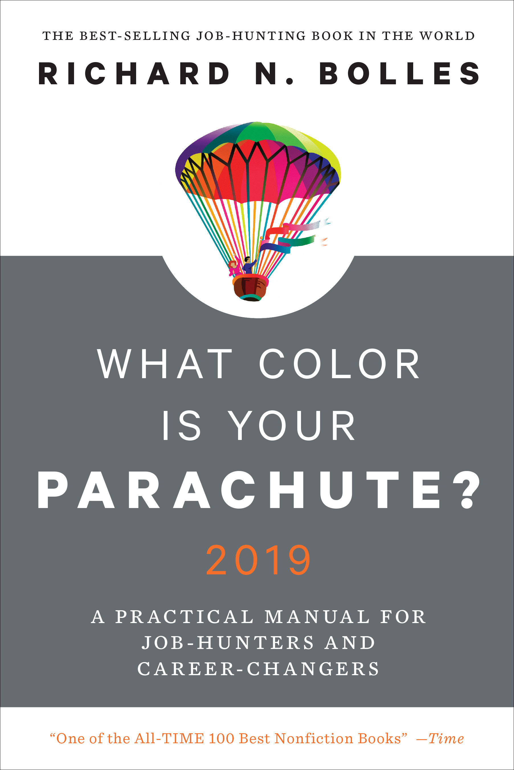 What Color Is Your Parachute? 2019 ed. book cover
