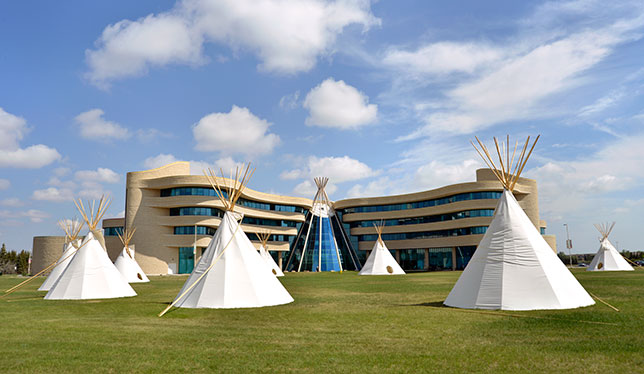 First Nations University of Canada now sits on reserve land
