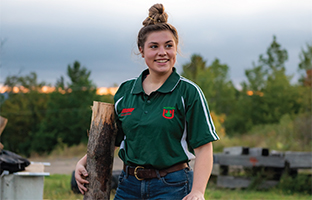 Student lumberjack teams keep traditions alive even as they change with the times