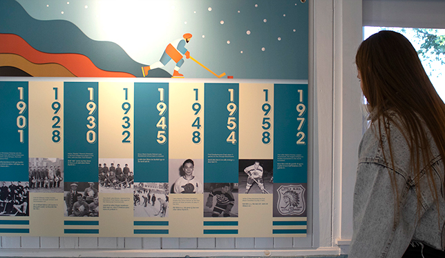 Exhibition by UFV's South Asian Studies Institute updates Canada's hockey history