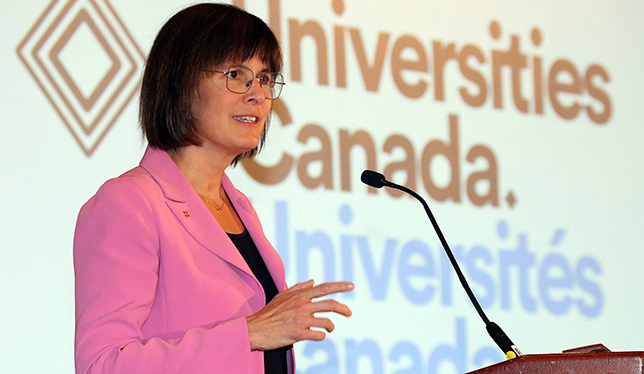 Postsecondary education as seen by Sophie D'Amours, rector of Université Laval