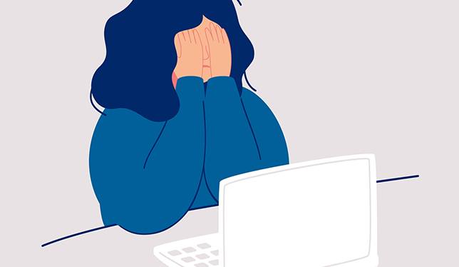 The loneliness of the online learner